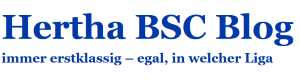 Hertha BSC Blog Logo