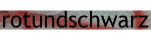 Rot und schwarz Logo